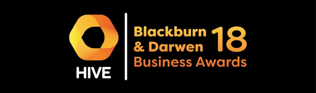Hive Blackburn and Darwen Business Awards 18 Banner
